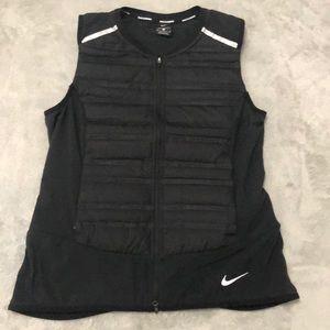 Nike Womens AeroLoft Running Vest M Black